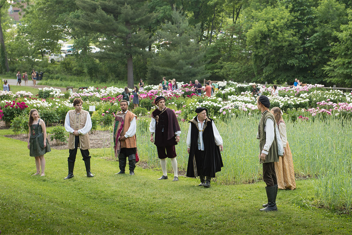 Shakespeare in the Arb