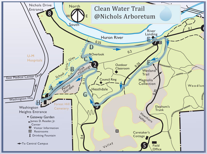 Clean Water Trail in the Arb