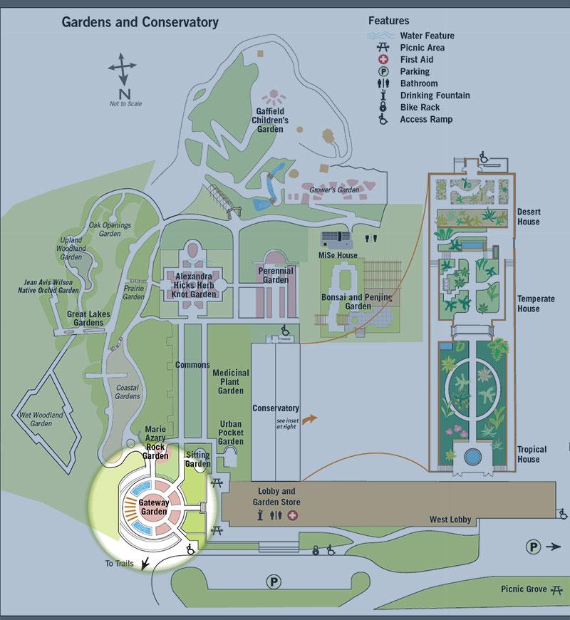 Gateway Garden Map