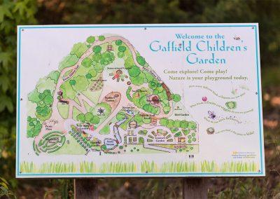 Map of Gaffield Children's Garden