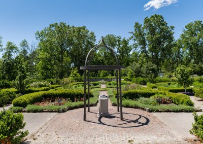 Herb Knot Garden, Photo by Scott Soderberg