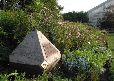 Perennial garden at Matthaei