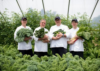 MDining Chefs at Campus Farm