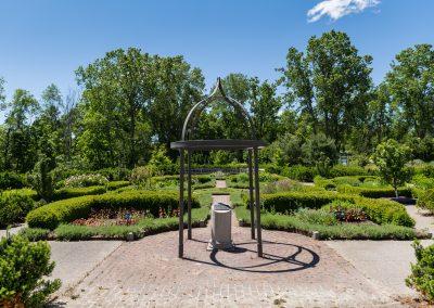 Herb Knot Garden at Matthaei