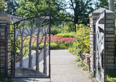 Gates to the Gateway Garden at Matthaei