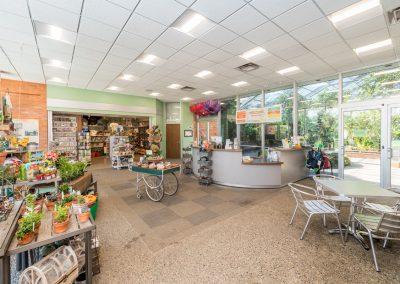 The Lobby and Garden Store at Matthaei