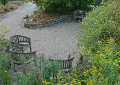 Sitting Garden at Matthaei