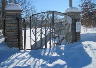 Gates at Gateway Garden-Matthaei