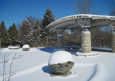 The Gateway Garden Pavilion at Matthaei