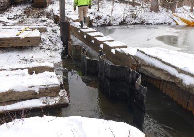 Weir repair