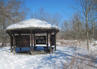 Trail Pavilion at Matthaei