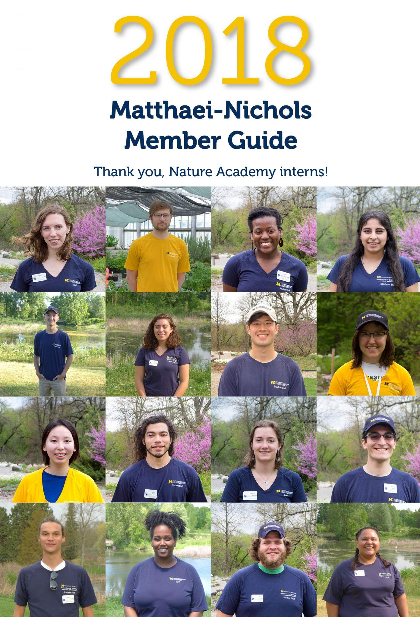 2018 Matthaei-Nichols member guide