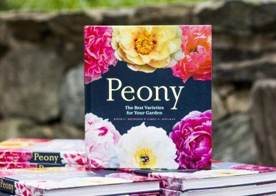 Peony book by David Michener.