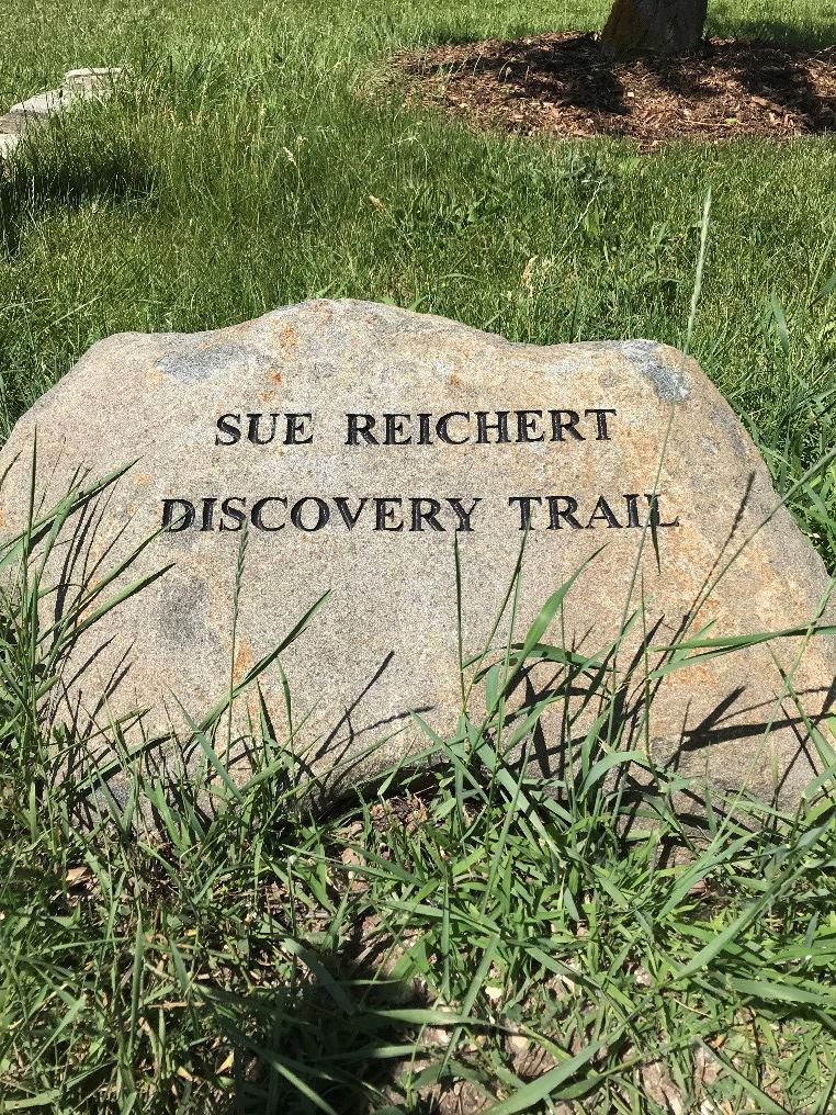 Sue Reichert trail marker