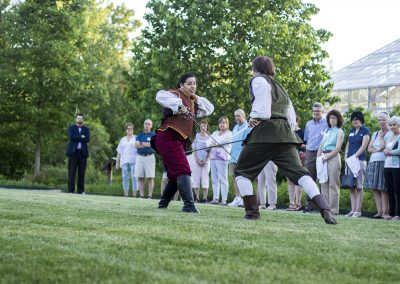 Shakespeare in the Arb member event