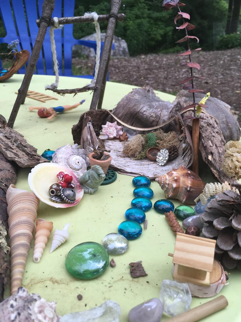 Children's garden pop up