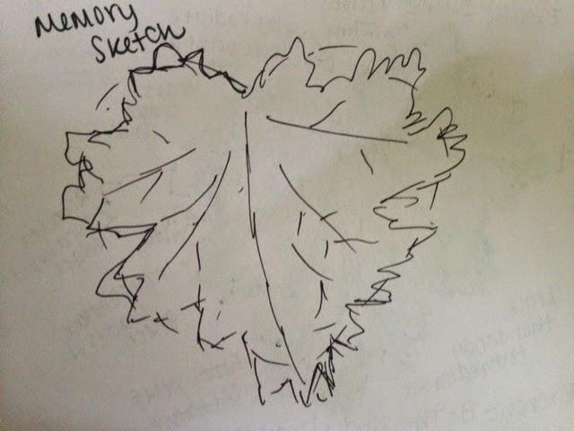 Leaf drawing-2