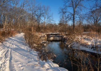 A path along Fleming Creek