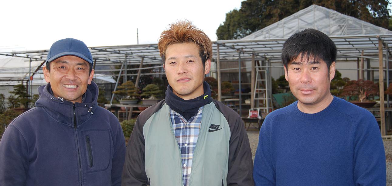 Visiting Japanese bonsai artists