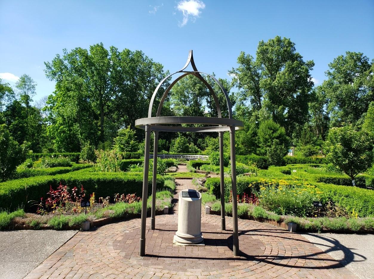 Herb Knot Garden entrance