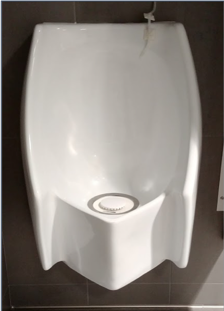 Urinal in GG Brown building