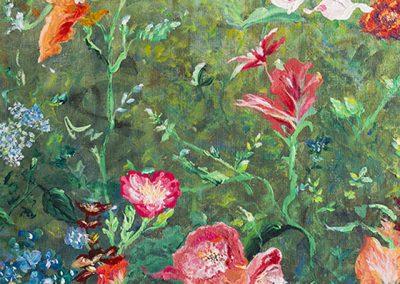 """""""Autumn Garden,"""" Linda Hyong"""
