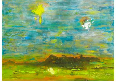 """Sung Eun Hong, """"Blue Sky"""""""