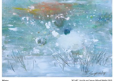 "Sung Eun Hong, ""Winter"""