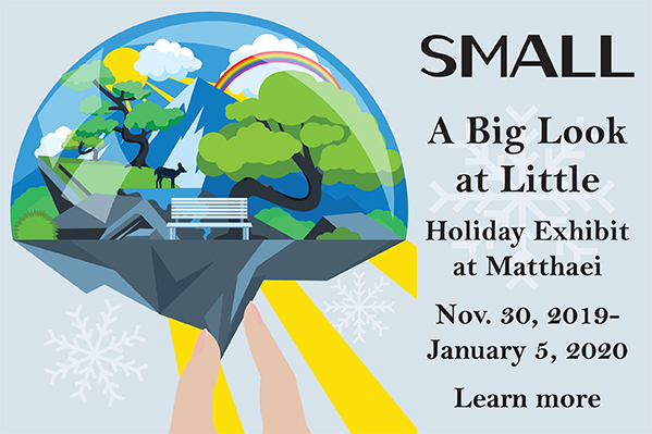 Small - holiday exhibit at Matthaei