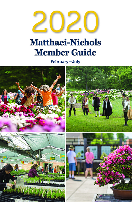 2020 Matthaei member guide cover