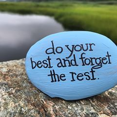 Do your best kindness rock