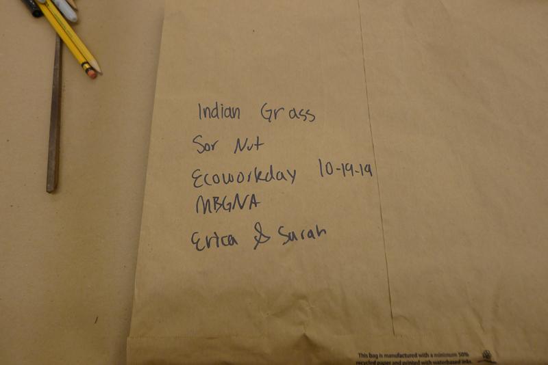 Labeling native seeds