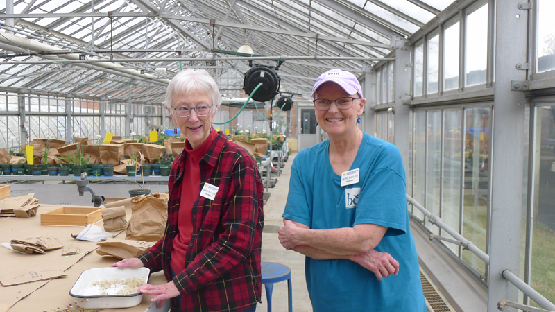 Dorothy Yenni and Laurie Woolsey