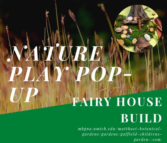 Fairy house build