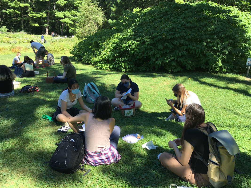 Outdoor class in te Arb