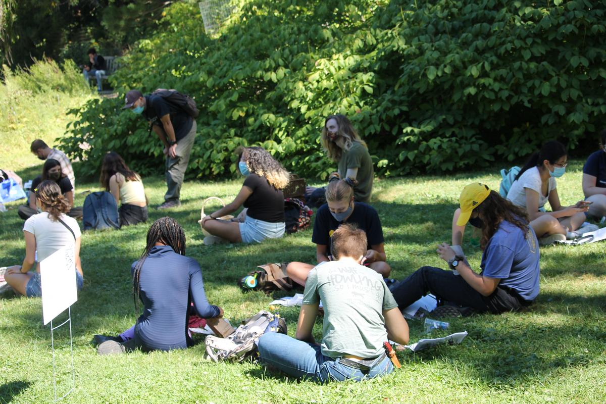 Outdoor class Arboretum