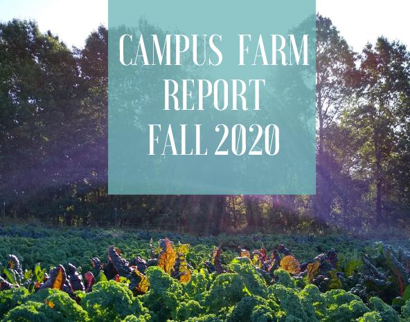 Cover of Campus Farm 2020 report