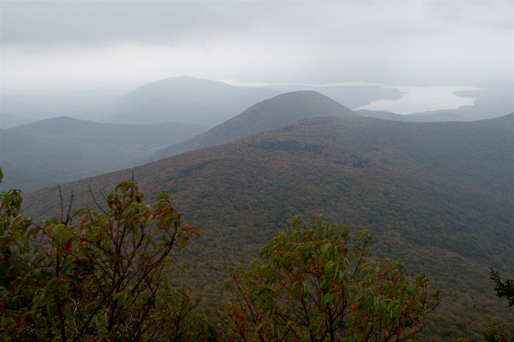 view of Catskills mountains