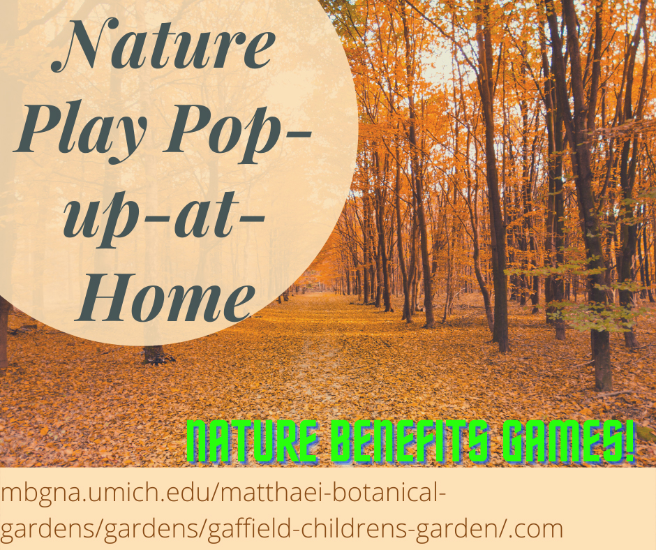 Nature benefit game web banner