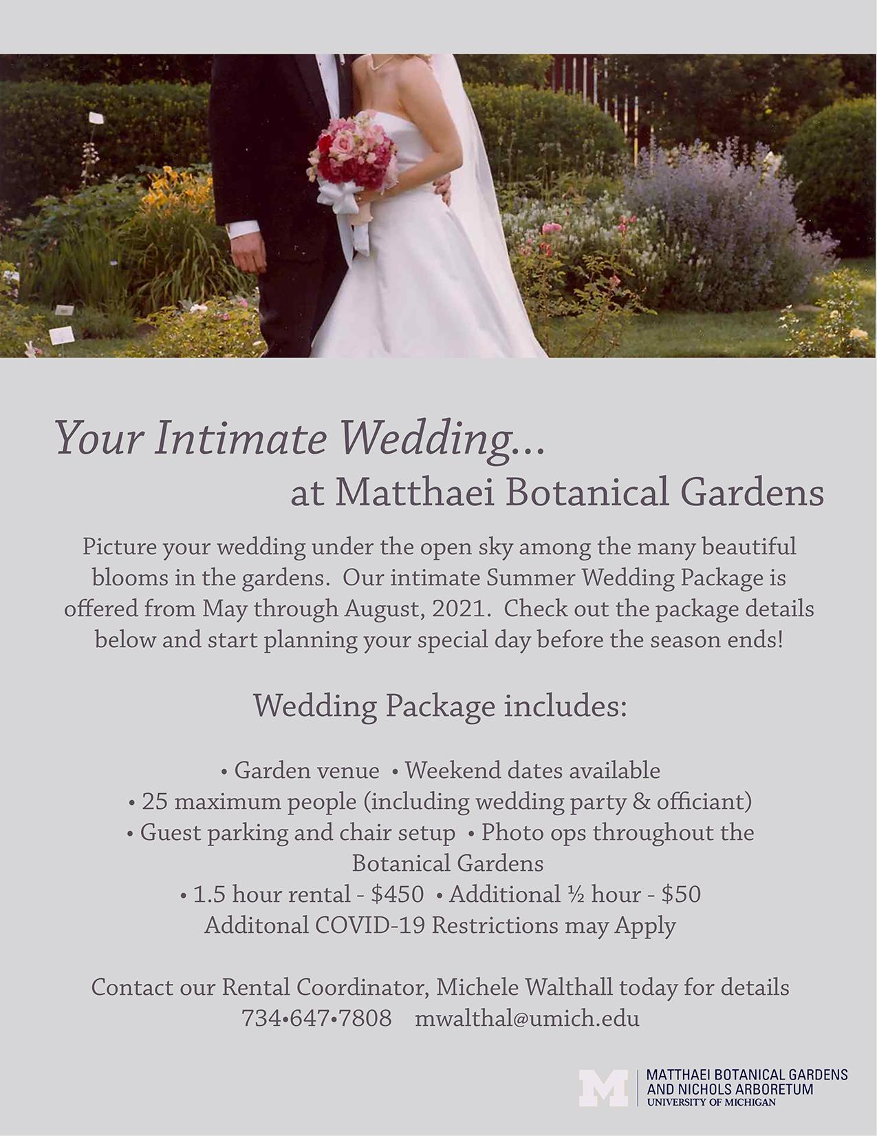 summer wedding graphic